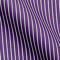 濃いめ紫 ストライプ柄の生地を各15cm