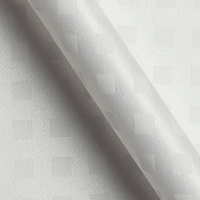 ホワイト 特殊柄の生地を各15cm