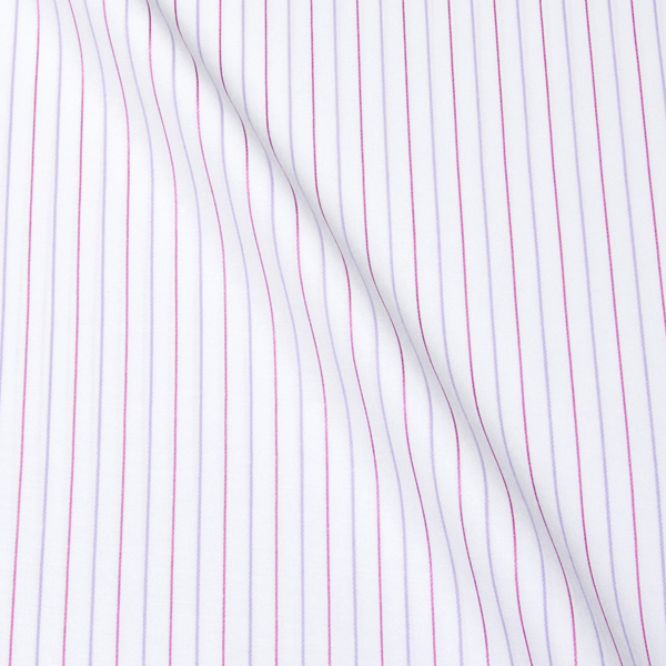 オルタネイトストライプのオーダーシャツ
