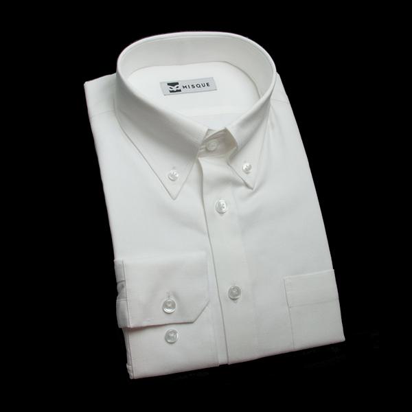 オックスフォードのホワイトシャツ